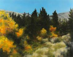 "Daily+Paintworks+-+""Golden+Wilderness""+-+Original+Fine+Art+for+Sale+-+©+Carol+Zirkle"