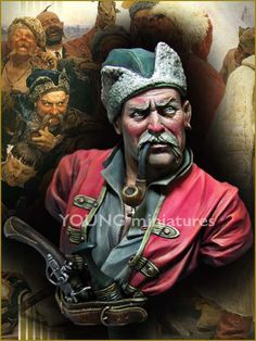 Zaporozhian Cossacks 1676 by Young Miniatures