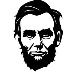 Abraham Lincoln vector portrait - Free vector image in AI and EPS format. Abraham Lincoln, Portrait Images, Vector Portrait, Portrait Art, Foto Beatles, Silhouette Clip Art, Batman Silhouette, Lost Images, Car Bumper Stickers