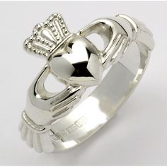 Irish Claddagh Ring. Perfection.