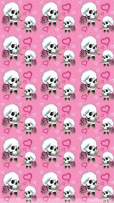 Sugar Skull Wallpaper, Pumpkin Wallpaper, Gothic Wallpaper, Pink Wallpaper, Cool Wallpaper, Wallpaper Backgrounds, Iphone Wallpaper, Wallpaper Ideas, Halloween Wallpaper Iphone