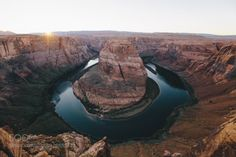 Sunset at Horseshoe Bend by imbradenolsen  adventure arizona canon canon 6d colorado river desert explore grand canyon horseshoe bend landscape