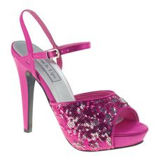 These are great for our Pink Pump Palooza!!  Touch Ups Evening Shoes - Bev-476 available at www.partydressexpress.com