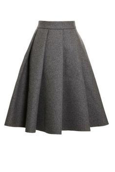 THE SKIRT J.W. Anderson Ten Pleat Skirt, $815; modaoperandi.com #fashion