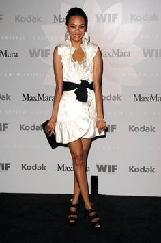 The Zoe Saldana Look Book - The Cut
