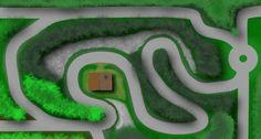Old-school top-down racing in Pixel Racing!