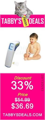 FeverWatch Professional Clinical Non-contact Infrared Thermometer - Forehead $36.69