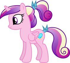 Filly Princess Cadance by Claritea on DeviantArt