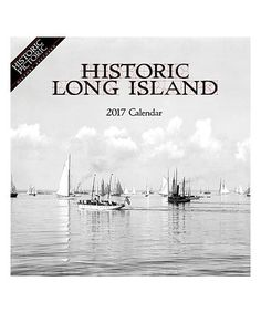 Look what I found on #zulily! Historic Long Island 2017 Monthly Wall Calendar #zulilyfinds