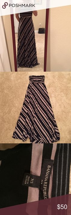 Banana republic maxi dress Beautiful worn once banana republic maxi dress. Size XS and smoke free 🌟🌟 ALWAYS OPEN TO OFFERS🌟🌟 Banana Republic Dresses Maxi