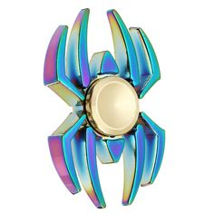 Spider Shape Colorful Fidget Hand Spinner ADHD Autism Reduce Stress Focus Attention Toys   Specification: Item Spider Shape Hand Spinner Material Alloy Size 59cm Weight 100g Great For Fidgety Hands a good choice for Killing Time. Great For Fidgety Hands ADD & ADHD Sufferers Killing TimeHelps Relieve Stress Perfect size suitable for Adults and kids Easy To CarrySmallSimpleDiscrete and Funalso effective for Focus and Deep Thought Use our Fidget Spinner Toy to help reduce stress anxiety and…