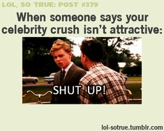 yes this happens to me all the time about Leonardo DiCaprio how is that possible ?