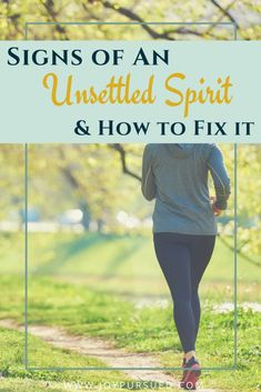 Are you struggling with an unsettled spirit? Identify the signs and overcome an unsettled spirit by taking the steps outlined in this post. Click to read
