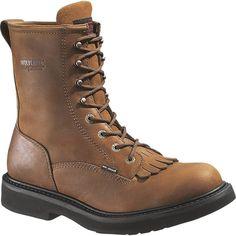 New Men/'s Wolverine W01214 waterproof 8 inch vibram Lug sole Gortex Work Boots