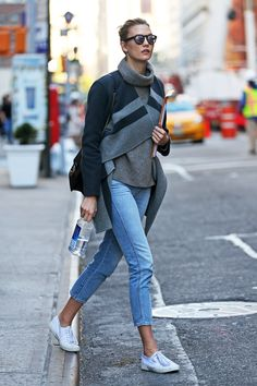 Karlie Kloss's Secret Weapon for Looking Cool at School