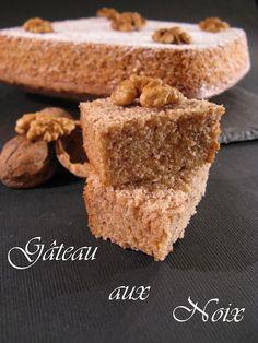 J'en reprendrai bien un bout...: Gâteau aux Noix (sans beurre & sans gluten)
