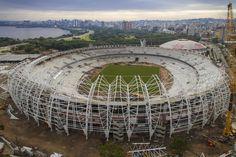 Especial Brasil 2014: los estadios donde jugarán los equipos hispanoamericanos,© Portal da Copa/ME