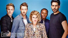 David Anders, Robert Buckley, Rose McIver, Malcolm Goodwin, Rahul Kohli, iZombie. See more stunning star portraits from our photo studio at San Diego Comic-Con 2014 here: http://www.ew.com/ew/gallery/0,,20399642_20837150,00.html