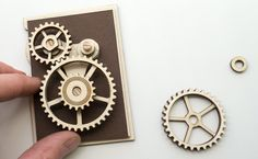 Display Gears. Laser Cut Project | www.robives.com