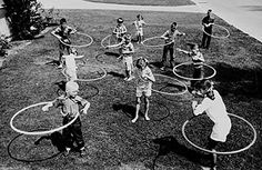Hula Hoop Craze!  I remember doing this for four straight hours!