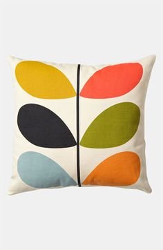 Orla Kiely 'Multi Stem' Pillow | Nordstrom | *thud* I just died. LOVE this. Totally want it for the bedroom re-do.