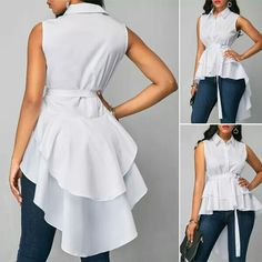 Ankara Fashion Inspiration: These Short Ankara Dresses Will Surely Stand you out. Short Ankara Dresses, African Fashion Dresses, African Dress, Look Fashion, Hijab Fashion, Fashion Outfits, Blouse Styles, Blouse Designs, Merian