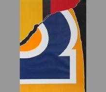 3- Burhan DOĞANÇAY (1929-2013)  Kağıt üzerine litografi, Amerikan baskı, 26/120 ed., imzalı.  75 x 55 cm  4.000 TL