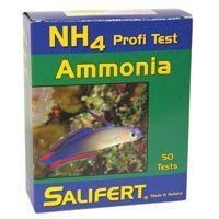 Salifert Ammonia Test Kit -- Details can be found by clicking on the image.