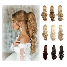 24'' Synthetic Hair Ponytail Long Curly Claw Clip In Hair Ponytails Natural Drawstring  Lady'sFake Hair Extension Pony Tail http://jadeshair.com/24-synthetic-hair-ponytail-long-curly-claw-clip-in-hair-ponytails-natural-drawstring-ladysfake-hair-extension-pony-tail/ #Ponytails