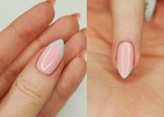 Magdalen Make'up: Manicure hybrydowy Semilac #3 - 047 & 022