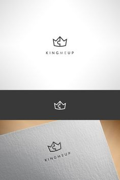 Logo for a service that connects people with mentors who help them to improve themselves and become better in what they do. Crown Logo, King, Design