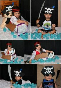 Dress Up & Play with DIY Pirate Costumes