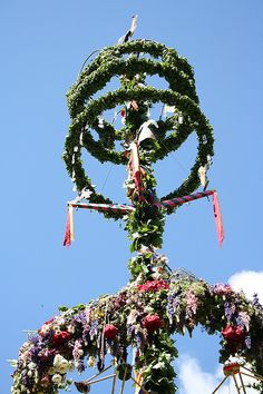 The Maypole in Malmkoping
