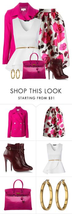 """boots & midi"" by divacrafts ❤ liked on Polyvore featuring MICHAEL Michael Kors, Chicwish, Atelier Mercadal, Jane Norman, Hermès, Lauren Ralph Lauren and Original"