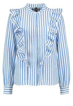 YAS YASSILA - Bluse - azure blue für 39,95 € (11.05.17) versandkostenfrei bei Zalando bestellen.