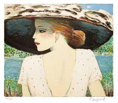 Cassigneul Jean Pierre  Ode wearing a hat