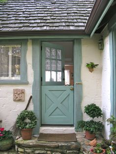 Country Cottage Style Front Doors