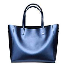 b15e7cceca Anynow Luxurious Women s Genuine Leather Handbag Fashion Cowhide Shoulder  Bag Ladies Tote Bag  Top-