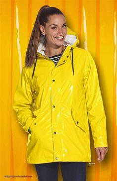 image Pvc Raincoat, Plastic Raincoat, Yellow Raincoat, Rainy Day Fashion, Leighton Meester, Rain Wear, Unisex, Coats For Women, Rain Jacket
