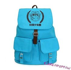 Bangtan Boys Kpop BTS Bag CANVAS SCHOOLBAG BACKPACK NEW in Entertainment Memorabilia, Music Memorabilia, Other Music Memorabilia | eBay
