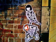 Colloquial terminology for classic Banksy, Rebel, Sydney, Graffiti, Street Art, Culture, Bird, Classic, Wall
