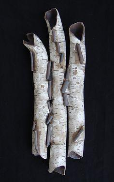 Dusk: Lenore Lampi: Ceramic Wall Art - Artful Home