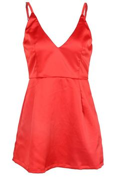 Fashion Frenzzie - Red Deep V Satin Mini Dress, $44.00 (http://www.fashionfrenzzie.com/red-deep-v-satin-mini-dress/)