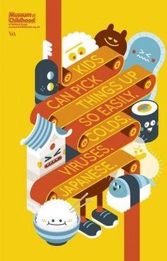 Poster inspiratif tentang Museum of Childhood Play to Learn atau museum permainan anak