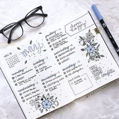 What's you favourite thing about #bulletjournaling? So many of you wanted to see what my weekly spread looks like at the end of the week! As you can tell I sometimes add some doodles to fill the page up a little I just love how this journal grows with me and everyone develops his/her own style with time I just love this whole #bujo community so much! So if you are thinking about starting a Bullet Journal - you definitely should!! . . . #bulletjournaldecoration #bulletjourna