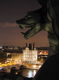 View from Orsay Museum roof, Paris