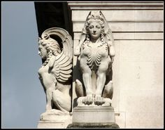 Tate Gallery London Sphinx Statue Bestiary | Flickr - Photo Sharing! Roman Sculpture, Sculpture Art, Fantasy Creatures, Mythical Creatures, Sphinx Mythology, Sphinx Tattoo, Le Sphinx, Tate Gallery, Greek Art