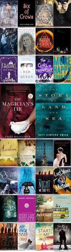 2015 Must Read Books No link, but you can get some ideas just from the photo