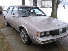1984 Oldsmobile Cutlas Ciera.  The car pictured is exactly as mine looked.