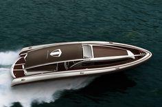 Luxury Amare yacht concept by industrial designer Dawid Dawod.